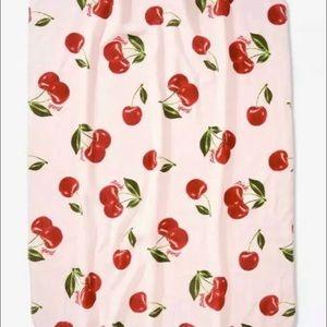 Victoria's Secret PINK Cherry Sherpa Blanket